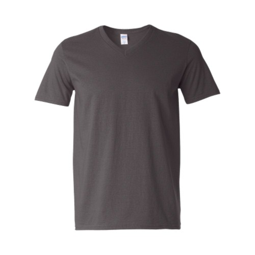 Softstyle V-Neck Shirt GILDAN (charcoal) 9,76 €