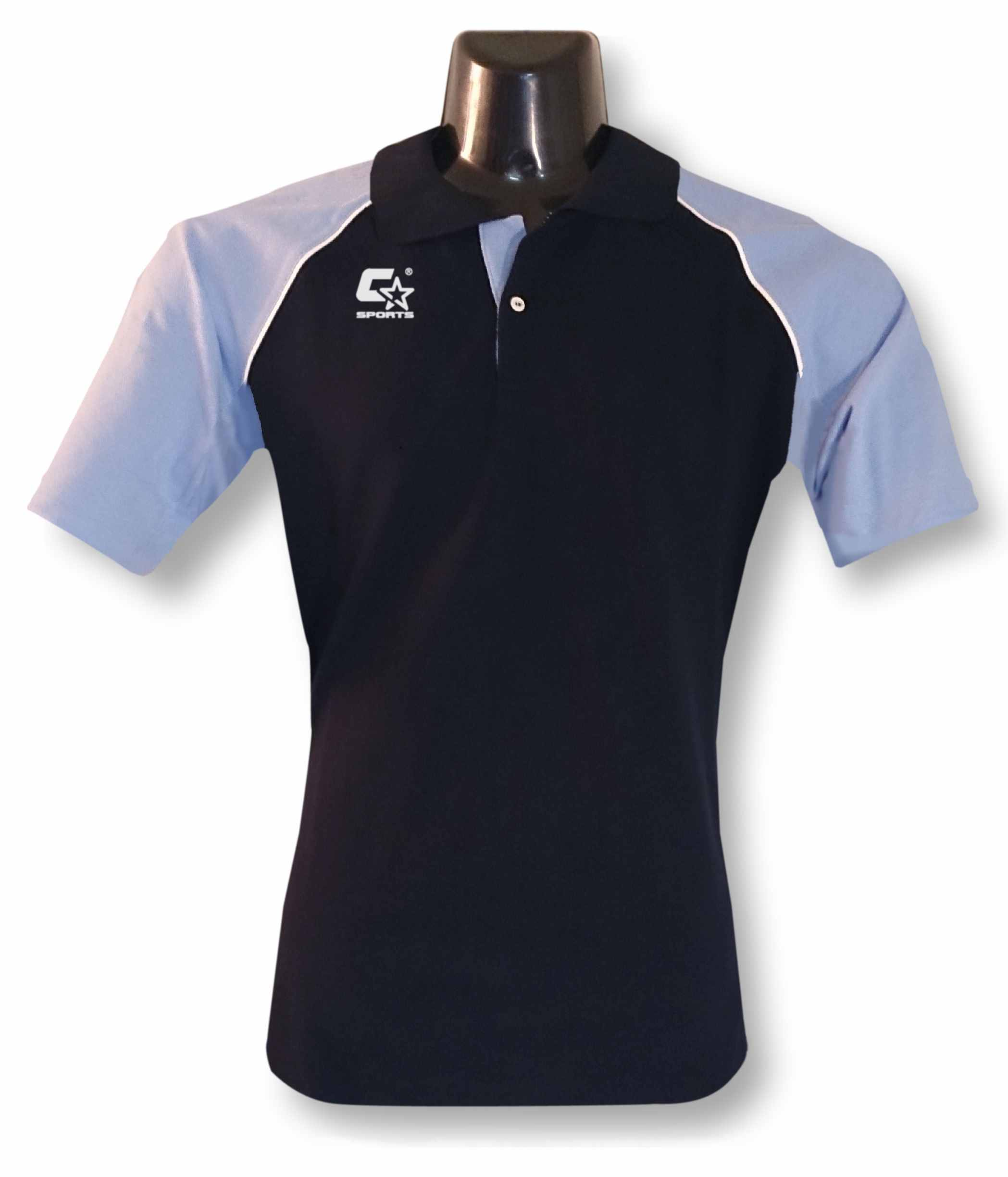 C-Star Polo Trikot Cotton(navy-sky) 15,53 €