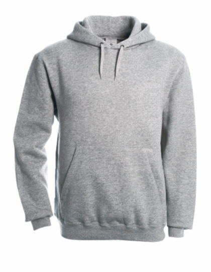 B&C Hooded Sweat (heathergrey)  24,16 €