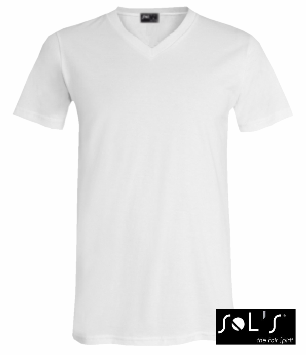 SOL´s V-Neck Short Sleeve Tee Shirt Master (white) 12,69 €