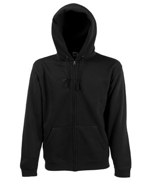 F.o.t.L. Kids Zip Through Hooded Sweat (schwarz) 22,61 €